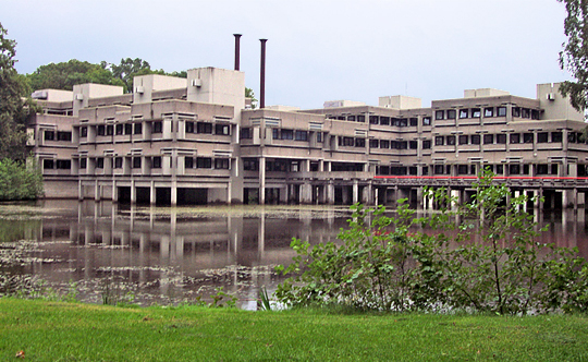 The educational science building